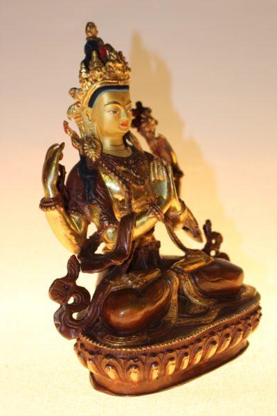 Buddha Kharachheri, Bronze, Buddhafigur - Onlineshop asian-garden.de