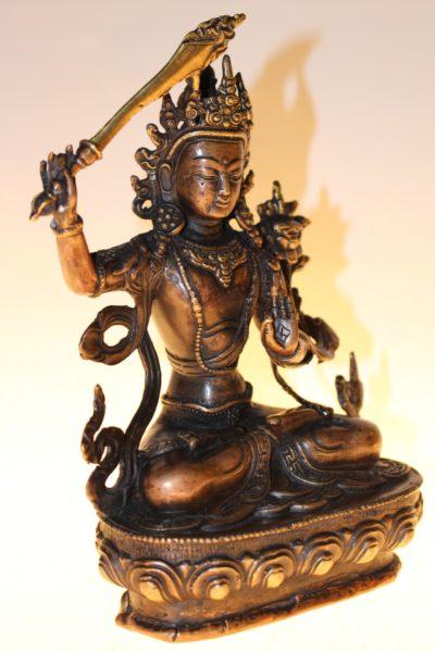Manjushri Buddha, 22 x 16 x 9,5cm