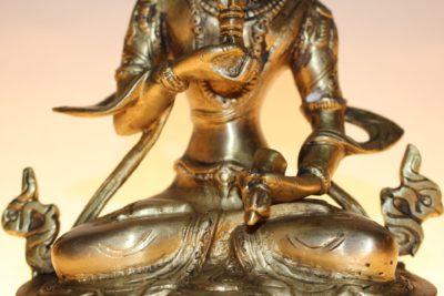 Transzendenter Bodhisattva (Vajrapani), 21 x 15 x 9,5cm