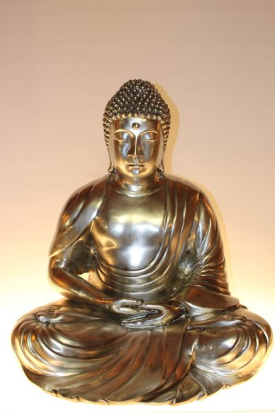 Bronze Buddha Statue, 57 x 50 x 40cm