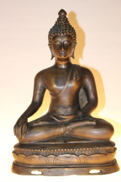 Bronze Buddha Statue, 35,5 x 24 x 15,5cm