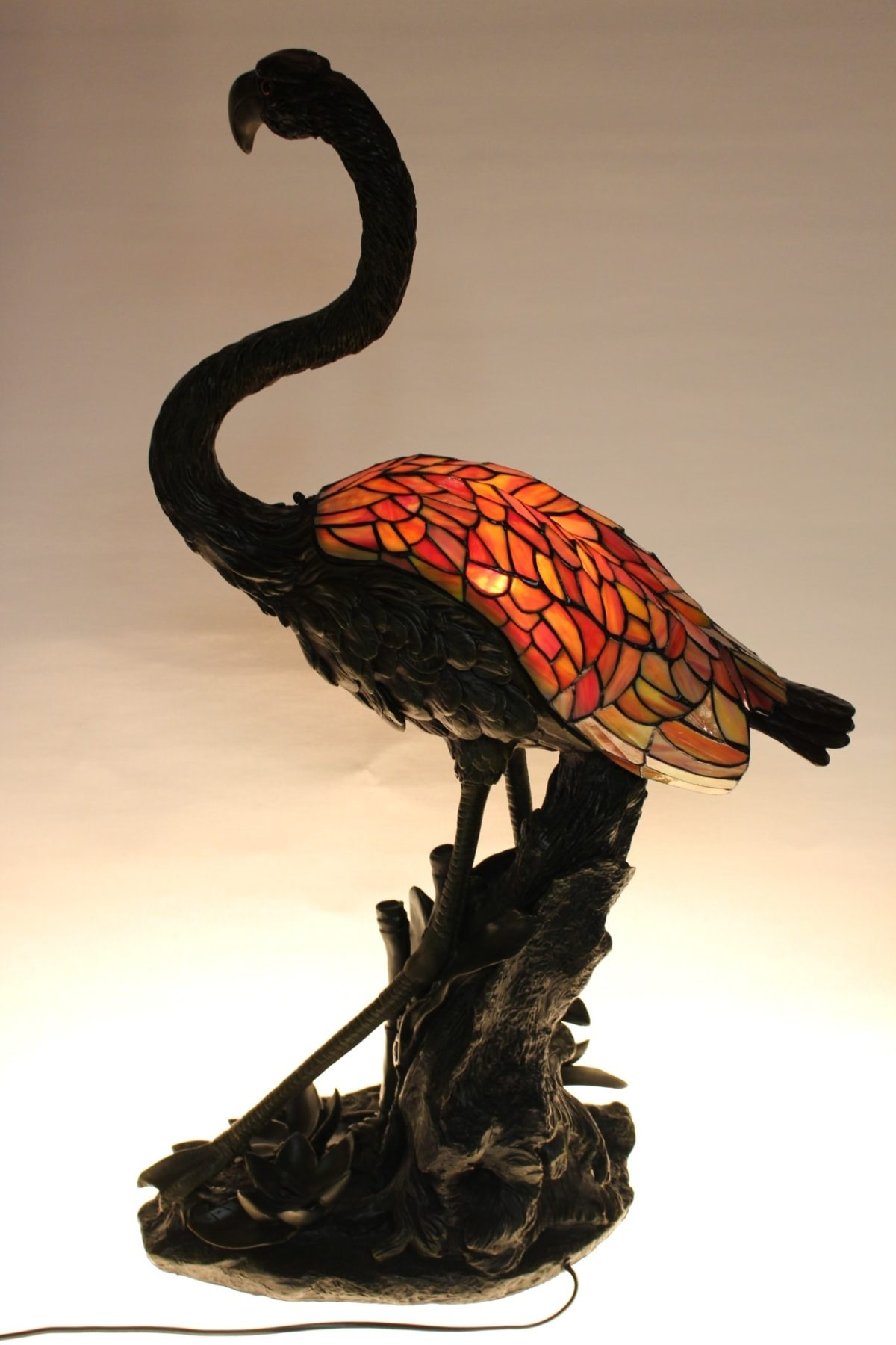 Tiffany Lampe, 86 x 50 x 27 cm