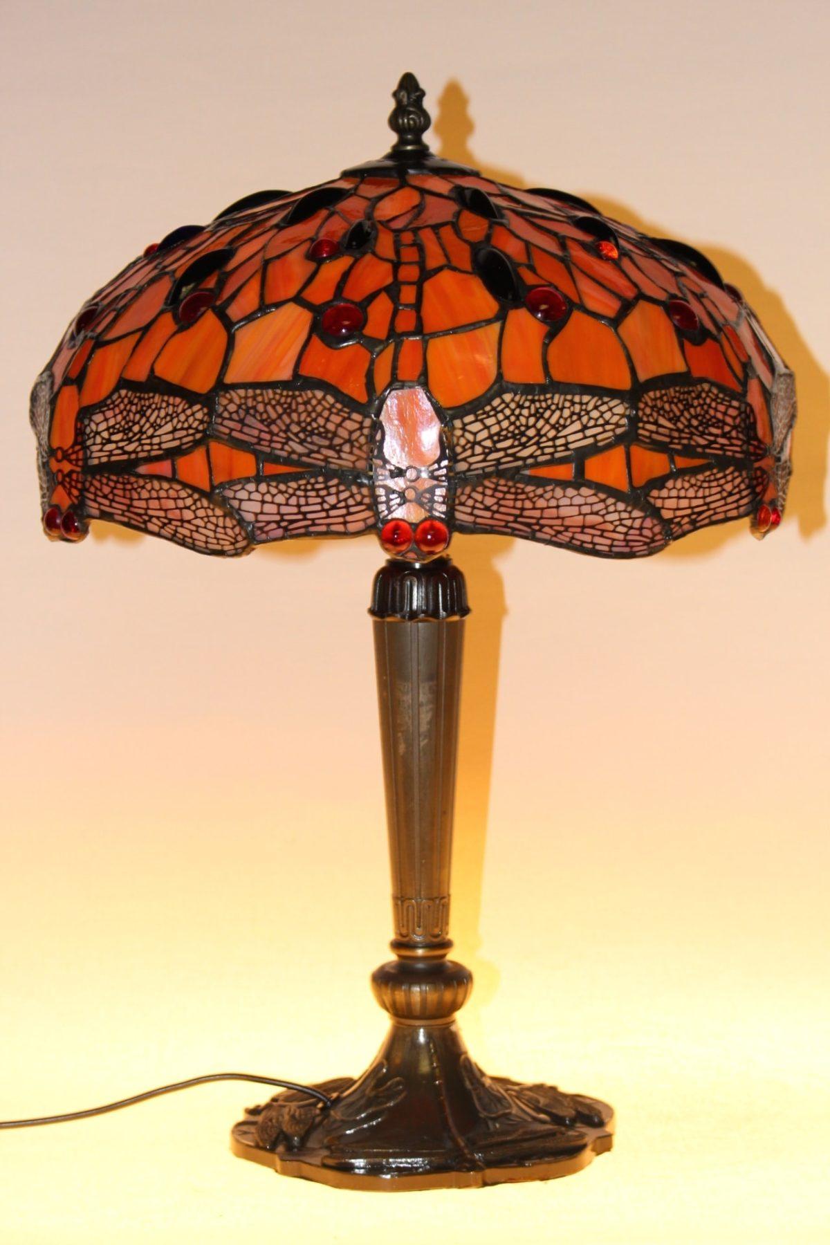 Tiffany Lampe, 47 x 31 x 18 cm