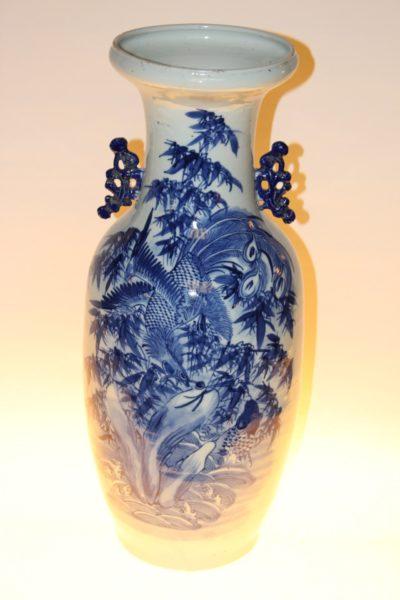 Chinesische Vase, 85 x 24 cm