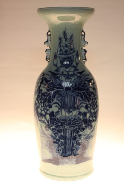 Chinesische Vase, 57,5 x 23 cm