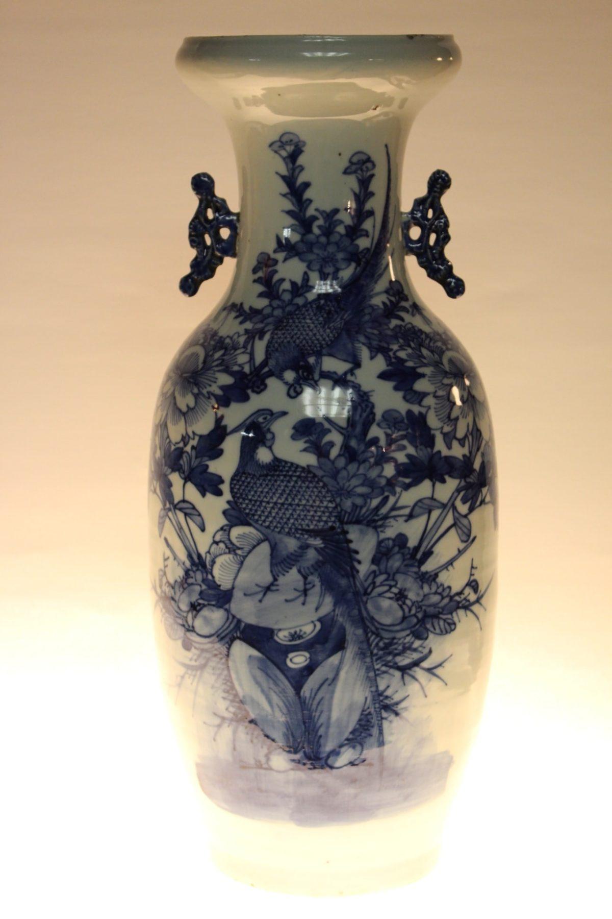 Chinesische Vase, 57,5 x 24 cm