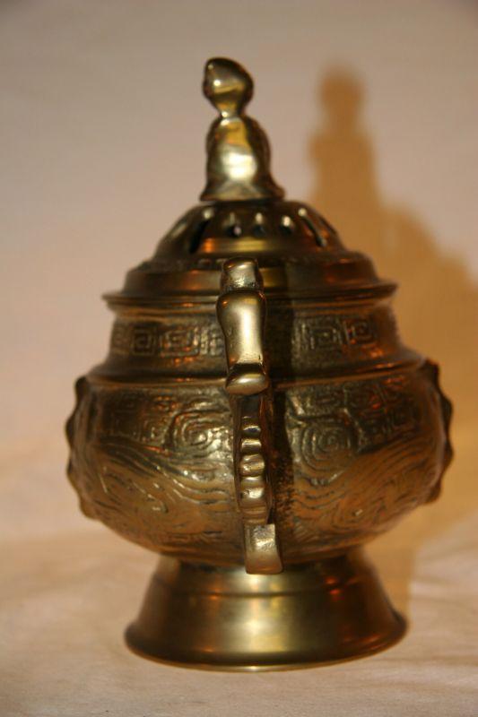 chinesisches r uchergef aus bronze zu kaufen auf asian. Black Bedroom Furniture Sets. Home Design Ideas