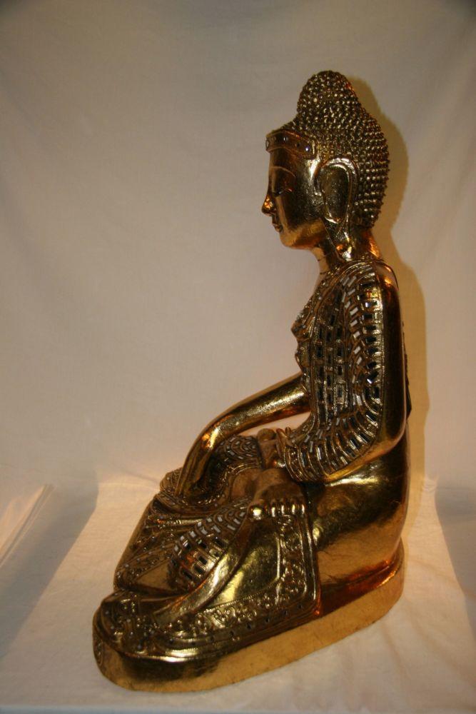 Buddha Figur Aus Holz Zu Kaufen Auf Asian