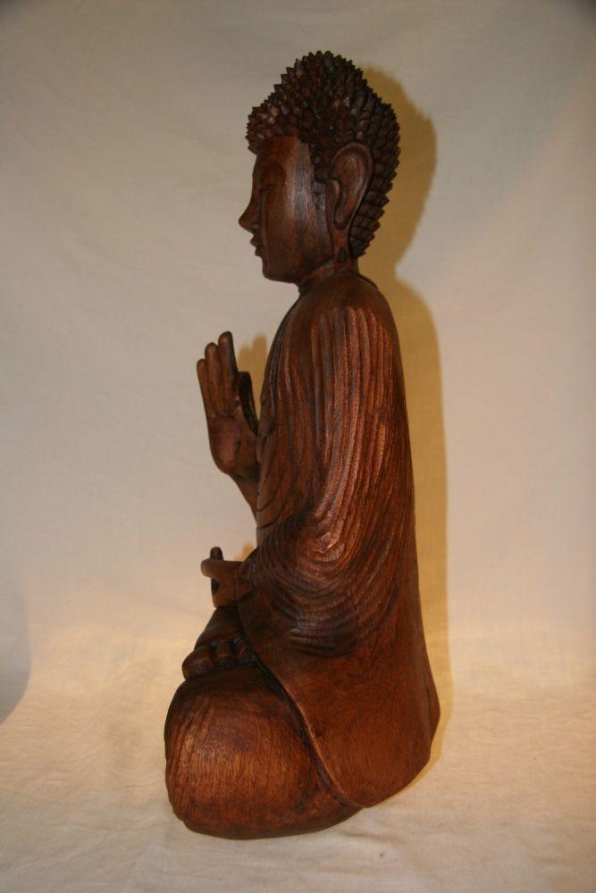 buddha aus holz zu kaufen auf asian. Black Bedroom Furniture Sets. Home Design Ideas