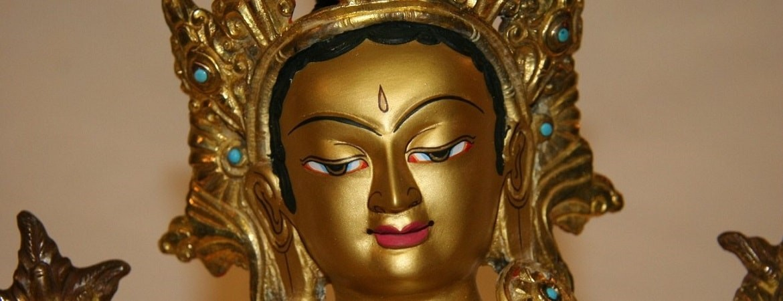 Asian Garden Ausstellung, Bronze Buddha Figuren kaufen im Shop