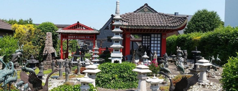 Asian Garden Ausstellung, asiatischer Garten einrichten.