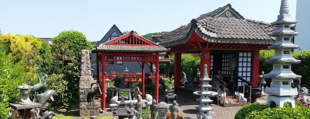 Asian Garden Ausstellung, Buddhafiguren kaufen im Shop