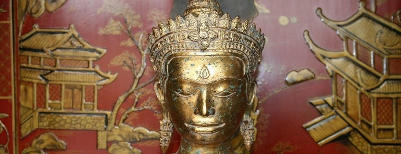 Asian Garden Ausstellung, Bronze Buddhas kaufen im Shop