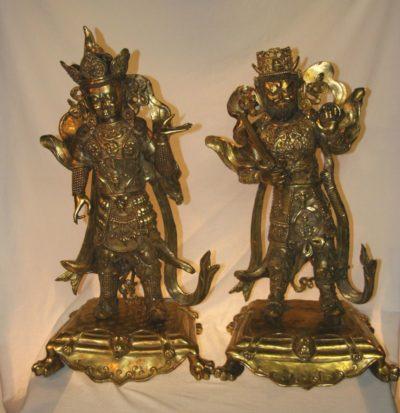 Nepalesische Tempelwächter