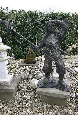 Thai Krieger Bronze - Detailansicht